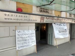 Pancarta esquerra